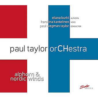 Alakotila / Paul Taylor Orchestra / Taylor / Burki - Alphorn & Nordisk vind [CD] USA import