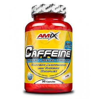 Amix With Caffeine Taurine 200 Mg 90 Capsules (Dietetics and nutrition , Vitality)
