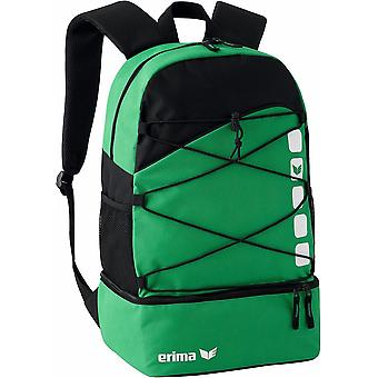Erima multi functional backpack Club 5 with bottom compartment green - 723342