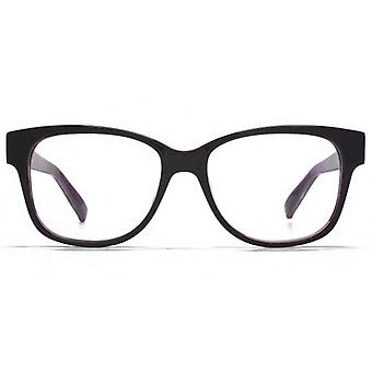 Carvela Large Square Glasses In Purple