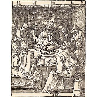 Albrecht Durer - The Last Supper Poster Print Giclee