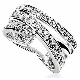 Moda anillo de plata 925