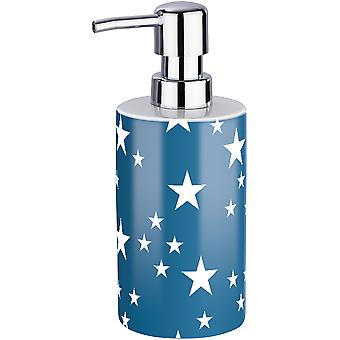 Wenko Ceramic Soap Dispenser Stella dark blue (Home , Bathroom , Bathroom accessoires)
