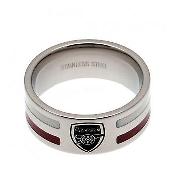 Arsenal Colour Stripe Ring Small