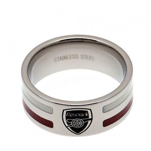 Arsenal farge Stripe Ring Medium
