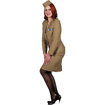 Kvinder kostumer kvinder Officer Lady 1940