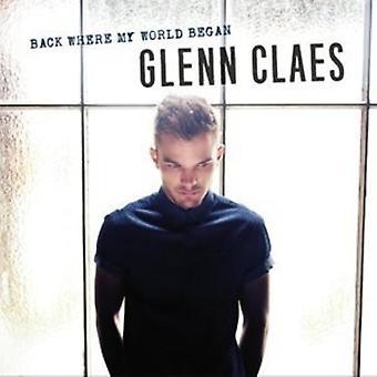 Glenn Claes - tillbaka där min värld började [CD] USA import