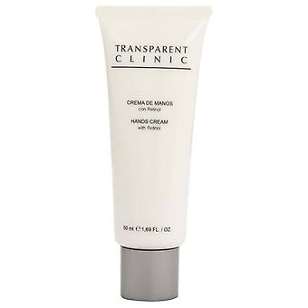 Transclini Transparent Clinic Cream 50ml hands