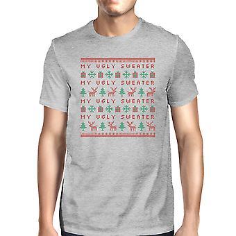 Min grimme Sweater Funny jul grafisk skjorte til mænd gave til ham