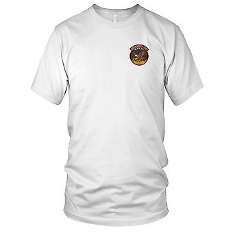 South Dakota State Black Hat Hand Crew - Bush Firemen Embroidered Patch - Mens T Shirt