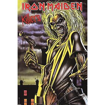 Iron Maiden - Killers Poster Poster afdrukken