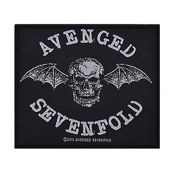 Avenged Sevenfold Tod Bat gewebten Patch