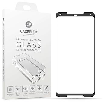 Google Pixel 2 XL Tempered Glass Screen Protector mit schwarzem Rand - Doppelpack