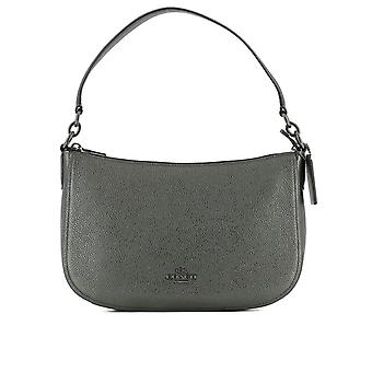 Coach ladies grey LEDER 22859DKM4Z shoulder bag
