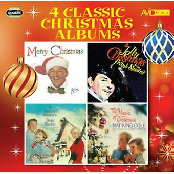 Four Classic Christmas Albums (Merry Christmas / A Jolly Christmas / A Winter Romance / The Magic Of Christmas) by Nat King Cole