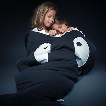 Baby Bites - Kids Sleeping Bag - Black Orca
