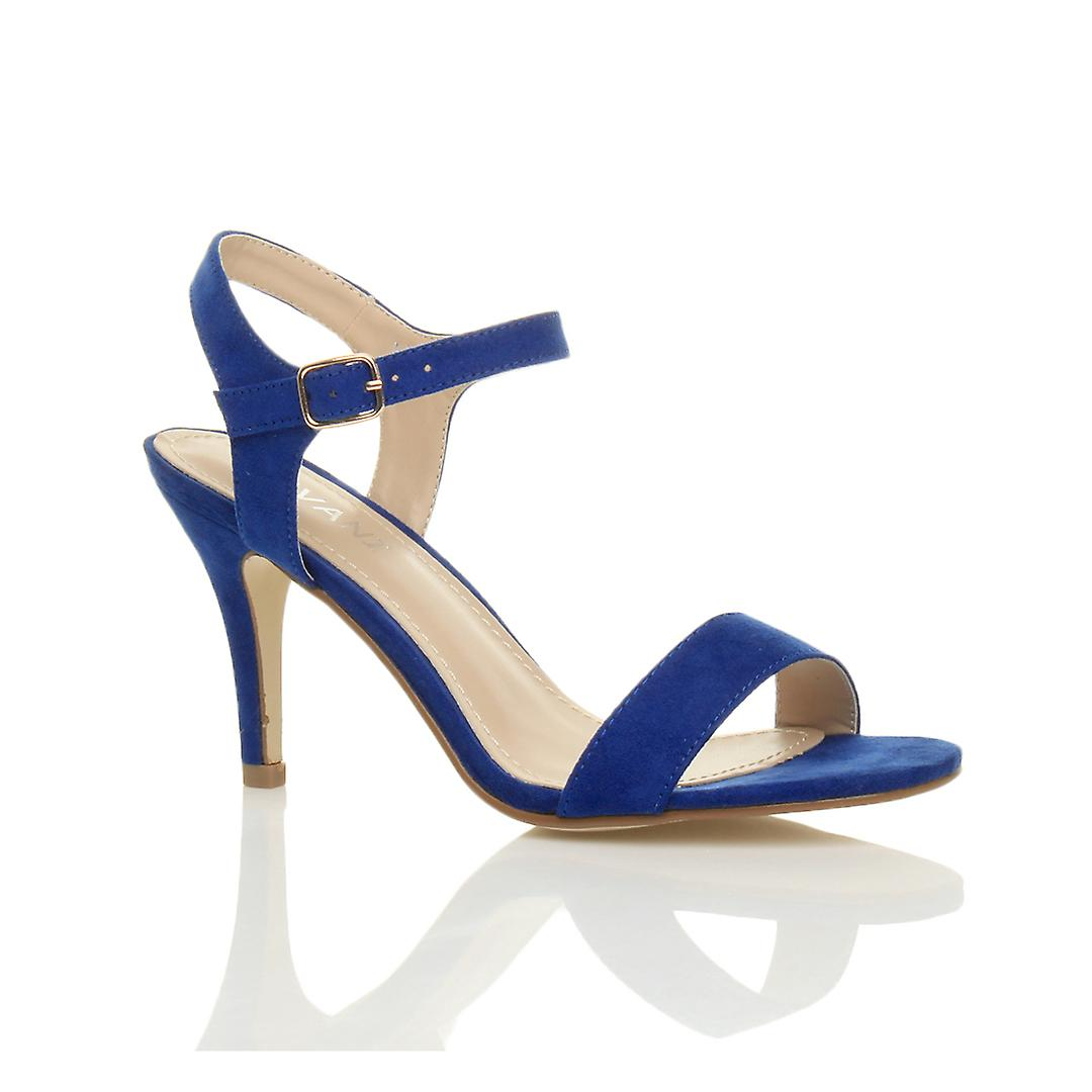 low high Ajvani barely party heel strappy womens prom wedding shoes sandals mid there EqqHTn4
