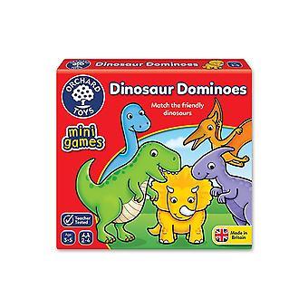 Фруктовый сад игрушки 353 «Матч дружественных динозавра» домино игра