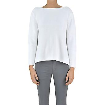 Gotha ladies MCGLMGP03062E white cotton sweater
