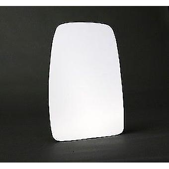 Left Stick-On mirror glass for Opel MOVANO van 2003-2010