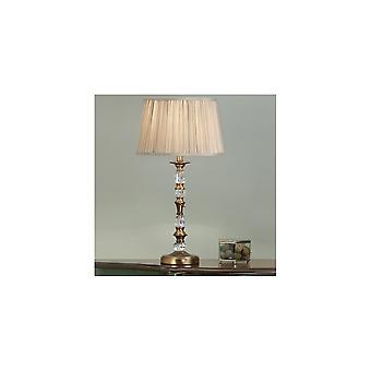 Interiors 1900 LX124TB + LX123SHW Polina Single Light Table Lamp