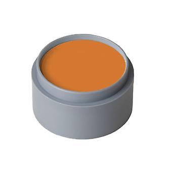 Fyldes op og øjenvipper vand make-up oranje