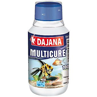 Dajana Multicure 100ml (Fish , Maintenance , Water Maintenance)