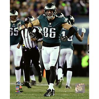 Zach Ertz 2017 NFC Championship Game Photo Print