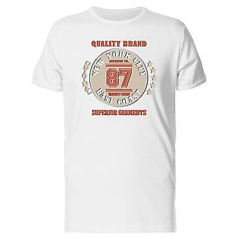 Quality Brand 87 Nyc Tee Men's -Image by Shutterstock