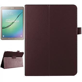 Brun beskyttende cover tilfældet for Samsung Galaxy tab S2 9,7 SM T810 T815N