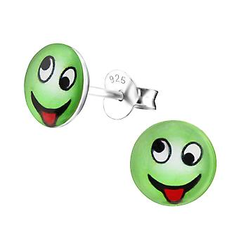 Cheeky - 925 Sterling Silver Colourful Ear Studs