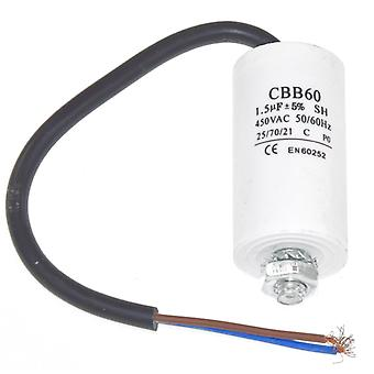 1.5UF universal condensador con 19 cm Cable conectores