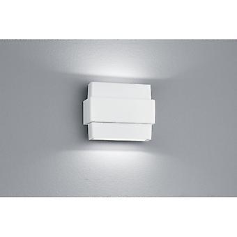 Trio verlichting Padma moderne witte Matt Diecast Aluminium wand Lamp