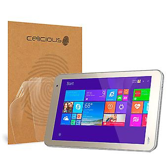 Celicious Vivid Invisible Screen Protector for Toshiba Encore 2 8.0 [Pack of 2]