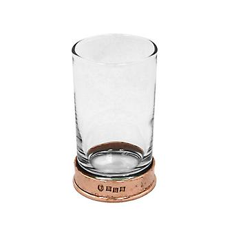 Pewter Rose Hammered Hiball Spirit Glass - 8�oz
