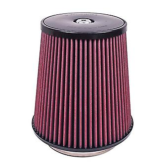 Airaid 700-031 Universal Clamp-On Air Filter: Round Tapered; 5.5 in (140 mm) Flange ID; 9 in (229 mm) Height; 9 in (229