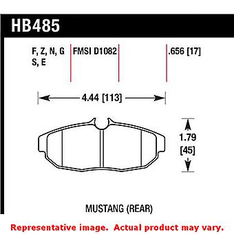 Hawk 'Performance Street' Brake Pads HB485B.656 Fits:FORD 2005 - 2006 MUSTANG