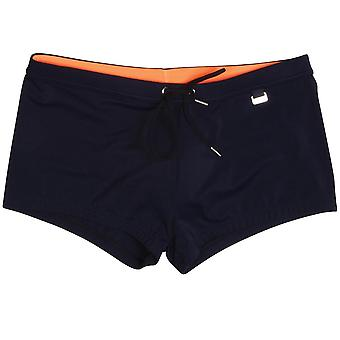 HOM Splash Swim Shorts, Navy, Medium