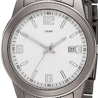 JOBO men's wristwatch quartz analog mens watch with date