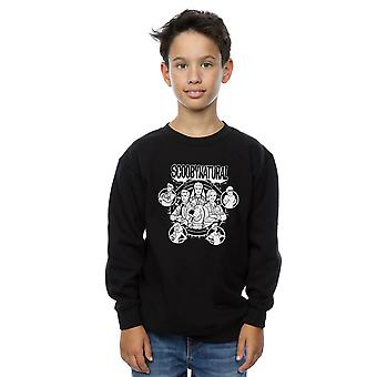 Scoobynatural Boys Mono Zeichen Sweatshirt