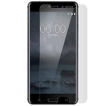 Tempered glass screen protector for Nokia 6, 9H hardness, anti-explosion