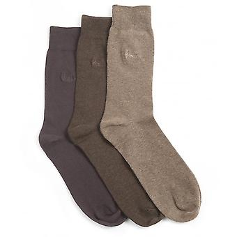 Pringle Endrick Socken 3-Pack-braun