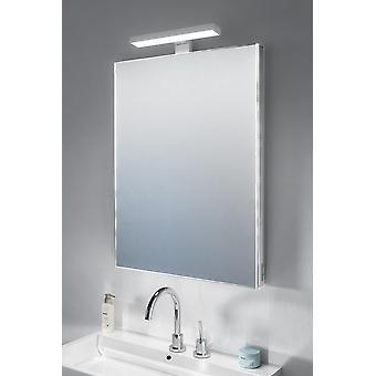 Crown Top Light Mirror with sensor & shaver socket k483