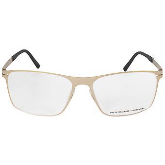 Porsche Design P8256 B Square | Matte Light Gold| Eyeglass Frames