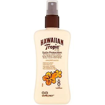 Hawaiian Tropic Spray sunscreen 8 spf 200 ml (Cosmetics , Body  , Sun protection)