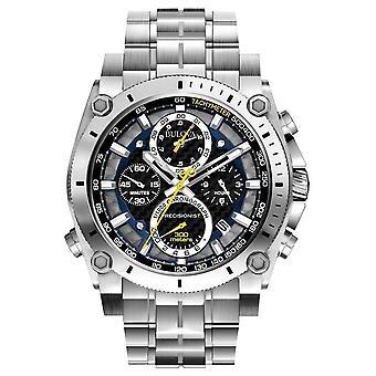 Bulova Mens precisionistische chronograaf horloge Sapphire 96 G 175