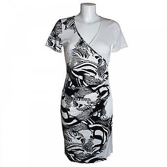 Tuzzi Women's Short Sleeve Cross Over Dress