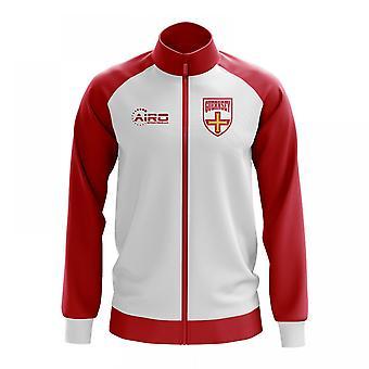 Guernsey konceptet fotboll Track Jacket (White)