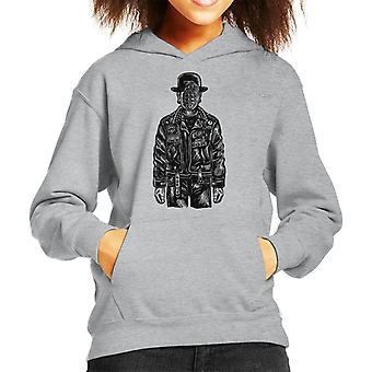 The Son Of A Grenade Kid's Hooded Sweatshirt