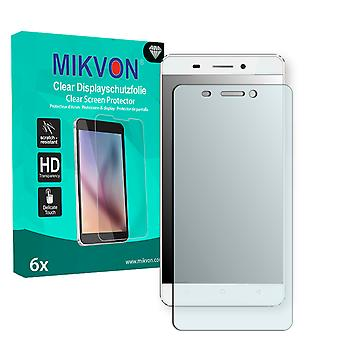 Allview P8 Energy Screen Protector - Mikvon Clear (Retail Package with accessories)